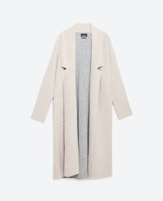 Image 8 of DOUBLE-SIDED COAT from Zara