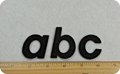 Italic font 2 Alphabet LOWER Case Your by SunshineAnnieDieCuts, $6.75