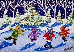 Little Ice Skaters | Renie Britenbucher