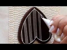 Lace cookie. Part 2. CookieCon2015. My little bakery. - YouTube