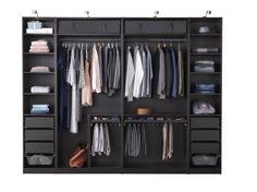 Shelves for Closet Ikea – Closet Design Ikea Pax Wardrobe, Wardrobe Room, Wardrobe Design Bedroom, Bedroom Furniture Design, Wardrobe Closet, Closet Bedroom, Ikea Closet Shelves, Dorm Closet Organization, Bedroom Cupboard Designs