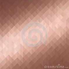 Golden rose metallic 3d background. Modern rose gold low poly texture.
