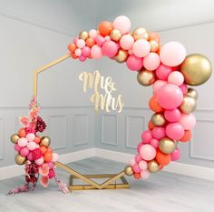 Saying I Do With Bubblegum Balloons Firstly, Congratulations! We spend all day everyday helping couples to bring their wedding dreams to life and know just how special this time is. Wedding Balloon Decorations, Wedding Balloons, Birthday Party Decorations, Birthday Parties, Party Ballons, Themed Parties, Balloon Backdrop, Balloon Garland, Balloon Columns