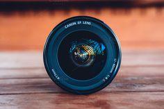 Camera Lens by michalkulesza on Creative Market #photography #canon #lens