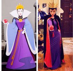 Evil queen Halloween costume  diy