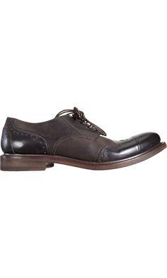 257dba580ec744 Marsèll Wingtip Cap Toe Blucher. The Bespoke Gentleman