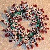 Make a candy wreath