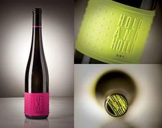 Etiqueta de vino de silicona para el vino Hold and Hollo