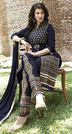 http://shreemadhufashion.com/salwar-kameez/mesmerizing-navy-blue-cotton-salwar-kameez.html