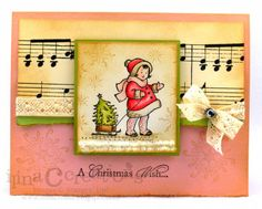 Vintage Christmas in July by ilinacrouse - Cards and Paper Crafts at Splitcoaststampers