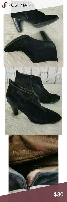 Peter Kaiser Black Ankle Boots Sz 8.5 Leather Classic well made ankle boots. Sz. 8.5. Peter Kaiser Shoes Ankle Boots & Booties