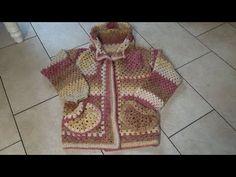 Haken - tutorial #457: Comfortabel granny vest Youtube, Vest, Fashion, Moda, La Mode, Fasion, Fashion Models, Trendy Fashion, Vest Outfits