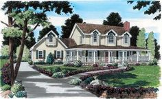 Large images for House Plan 131-1119