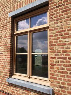 Landelijk raam