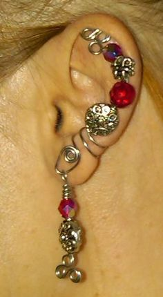 really cool ear cuff
