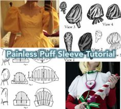 PUFF SLEEVE TUTORIAL FOR COSPLAY AND PERIOD DRESS! Hey! There's a lot of disjointed info out there about making puffy sleeves, and I thought it might be helpful to gather (ha) everything I've...