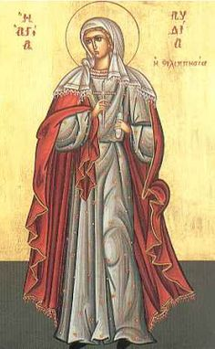 MYSTAGOGY: Saint Lydia of Philippi, the Equal To the Apostles