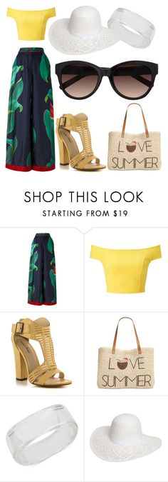 """Summer Lovin'"" by littlemissel on Polyvore featuring F.R.S For Restless Sleepers, Miss Selfridge, Michael Antonio, Style & Co., INC International Concepts, Dorothy Perkins and LC Lauren Conrad"
