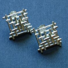 Sterling Small Temple Studs by CristinaHurley on Etsy, $110.00