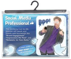 "CollegeHumor's ""Social Media Pro"" Halloween Costume Is Scarily Funny"
