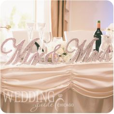 Wedding Guide Chicago / Mr. and Mrs. Wedding Theme /  Real Chicago Wedding / Charcoal grey, blush pink, ivory