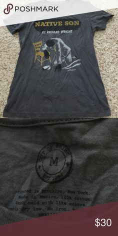 Urban Outfitters Out Of Print Shirt NWOT Urban Outfitters Out Of Print Shirt NWOT size medium. Native son book out of print top Urban Outfitters Tops Tees - Short Sleeve