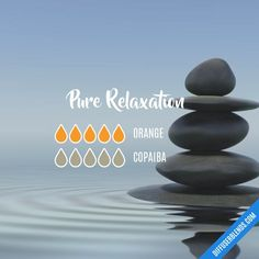 Pure Relaxation — Essential Oil Diffuser Blend