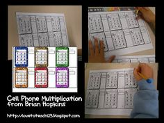 Laura Love to Teach review of my Cell Phone Multiplication Activity! $
