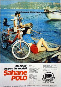 OĞUZ TOPOĞLU : belde polo standart belde bisiklet 1973 nostaljik ... Vintage Bicycles For Sale, Vintage Bicycle Art, Vintage Bikes, Logo Vintage, Retro Vintage, Bicycle Paint Job, Bicycle Painting, Velo Retro, Retro Bike