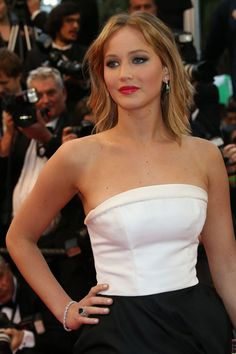 Jennifer Lawrence en Chopard…