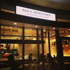Max Brenner Chocolate Bar in Tokyo!