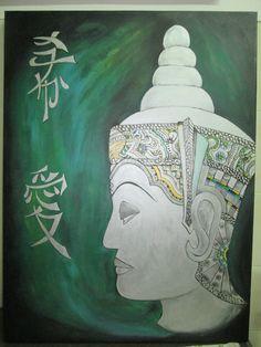 Tela pintada budista
