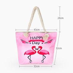 Hot Flamingo Printed Bag – Baqala Store Summer Tote Bags, Flamingo Print, Printed Bags, You Bag, Bag Sale, Dust Bag, Reusable Tote Bags, Store, Hot