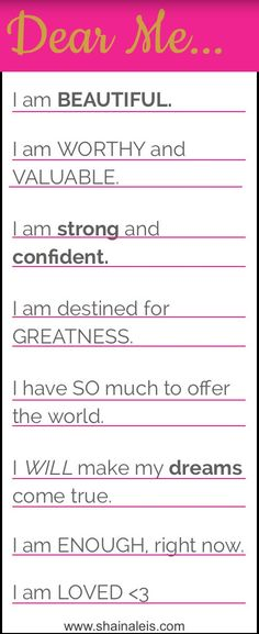 Celebrate yourself with daily mantras. Believe in yourself and anything is…