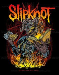 Slipknot Merchandise Graphic by VisualAmnesia on CreativeAllies.com