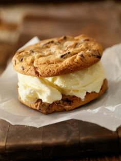 In honor of National Ice Cream Sandwich Day tomorrow, try this Vegan Chocolate Vanilla Ice Cream Sandwich from SheKnows.