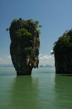 Cruising Phang Nga Bay, Thailand Ao Phang Nga National Park