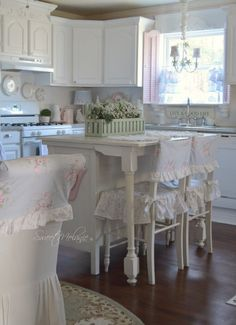 Shabby Chic Kitchen Love by oldrose Kitchen dreams