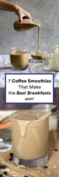 Splendid Smoothie Recipes for a Healthy and Delicious Meal Ideas. Amazing Smoothie Recipes for a Healthy and Delicious Meal Ideas. Smoothies Vegan, Coffee Smoothie Recipes, Smoothie Drinks, Healthy Coffee Smoothie, Coffee Breakfast Smoothie, Energy Smoothie Recipes, Best Breakfast Smoothies, Breakfast Healthy, Oat Smoothie