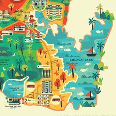 16 Best art map images
