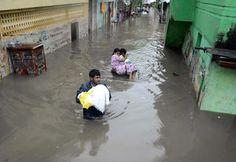 Inde. Une facture climatique de 51milliards de dollars en quinzeans   Courrier international