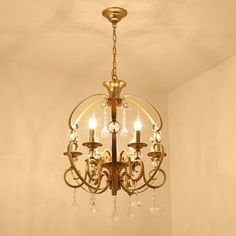 You'll love the 6 Light Candle-Style Chandelier at Wayfair - Great Deals on all Lighting  products with Free Shipping on most stuff, even the big stuff.