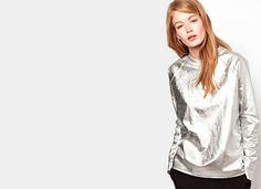 OBSESSED / Metallic Sweatshirts by MERCI