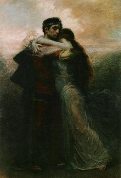 Tristan and Isolde by Rogello Egusquiza