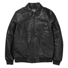 Carhartt WIP Detroit Leather Jacket http://shop.carhartt-wip.com:80/es/men/jackets/I019343/detroit-leather-jacket