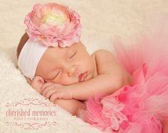 This is a must for newborn photo! Newborn Tutu Bubble Gum Pink Tutu size Newborn 7 by TutuSisters, $25.00