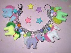 Pony Charm Bracelet Pony Jewelry My Little Pony Inspired by Jynxx
