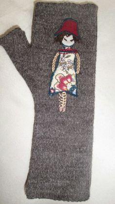 Eldiven yünlü işleme,alike handmade Asuman's Magic Scissors tasarımıdır.