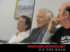 Michael Baldwin, Angus Scrimm and Reggie Bannister talk Phantasm in Kent...