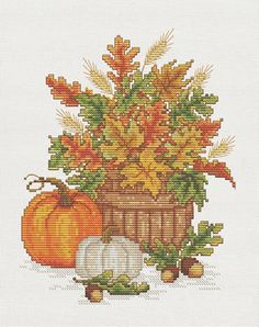 Pumpkins - Cross Stitch Patterns & Kits (Page 4) - 123Stitch.com